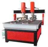 Multi-Kopf Holzbearbeitung CNC-Fräser-Maschine mit Dreh