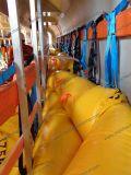 sacos enchidos água do reator 500kg