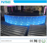 Afficheur LED fixe normal extérieur polychrome de l'installation P6