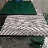 공급 출력 자동활송장치를 위한 고무에 의하여 역행되는 세라믹 매트