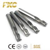 O carboneto de alta qualidade 3 flautas máquina de corte de desbaste para alumínio