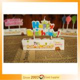 Neue kommende Zahl-geformte Geburtstagsfeier-Kerze