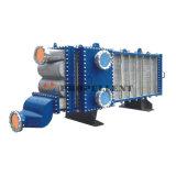 Acier inoxydable plus élevé industriel de résistance thermique tout l'échangeur de chaleur soudé de plaque