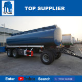 Titaan 20000 van de Aardolie van de Brandstof van de Tank van de tri-As van de Brandstof van de Tanker van 4-Axlev van de Trekbalk Liter van de Aanhangwagen van de Tank