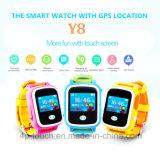 Горячая продажа сенсорный экран 2g личные Tracker с несколькими языками (Y8)