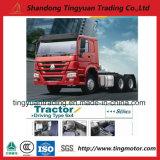 Caminhão chinês 6X4 do cavalo-força Trator do caminhão HOWO 336