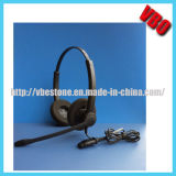 Qd/USBジャックが付いている新式のコールセンターの電話ヘッドセット
