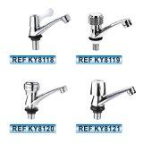 Robinet sanitaire de bassin de taraud de mélangeur de l'eau d'articles de zinc chaud de vente de l'Amérique du Sud (KY8146)