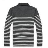 方法カスタム品質の昇進のストリップの青年ポロシャツ
