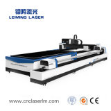 Utensile per il taglio del laser della fibra del tubo del metallo con la Tabella Lm3015am3 di scambio