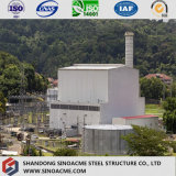 Taller industrial prefabricado garantizado en grande de la fábrica de la estructura de acero