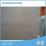 Lastra di marmo rossa dell'agata popolare grande per il controsoffitto/mattonelle