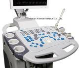 최신 판매 B/W 진료소 장비 트롤리 색깔 도풀러 초음파 기계 (YJ-U80TPLUS)