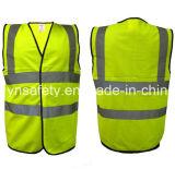 Желтая отражательная ячеистой сети одежды с EN20471
