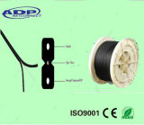 Cintrer-Type autosuffisant extérieur 2 câble optique de baisse du faisceau FTTH de fibre