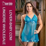 2016 Ladies Lingerie Set Sexy Sleepwear (L28012-4)