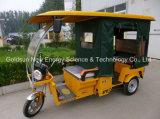 Triciclo elétrico novo da potência solar do estilo de Houseuse