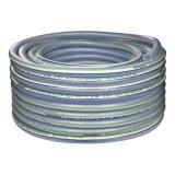 """3/8 """" di ~1-1/2 """" due filati di poliestere che intrecciano i tubi flessibili di rinforzo del PVC"""