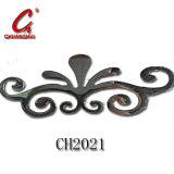 亜鉛合金のCabineの花Tの家具のドアハンドル(CH2021)