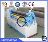Machine de la plaque W11F-1.5X1300 de dépliement en acier et de roulement