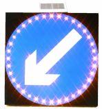 알루미늄 사려깊은 속도 한정된 경고 교통 표지 상징 LED 교통 표지