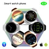 円形スクリーンのBluetoothのスマートな腕時計の電話(K18)
