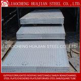 Plaque en acier prix d'usine à damier utilisé pour l'escalier