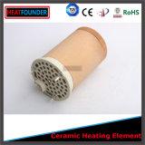 Un riscaldatore tubolare di ceramica di 3 fasi