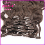 Qualsiasi capelli umani superiori 100% della clip di Remy di pollice