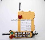 Односкоростной промышленных беспроводного радио пульта дистанционного управления подъемник F24-12s