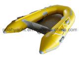 Talla inflable los 200-330cm del barco del casco transparente