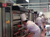 Four de luxe d'Elctric de 9 plateaux pour le système classique élevé de boulangerie