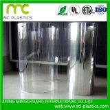 El PVC transparente flexible película utilizada para el caso/Ventana/Pack contenedor