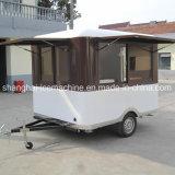 Camion mobile de nourriture à vendre, chariot de nourriture de chariots d'hamburgers à vendre Jy-B12