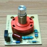 Commutateur rotatif de vitesse du contrôle 4 de carte de pouvoir
