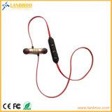 Magnétiques dans les casques Bluetooth de l'oreille de la musique stéréo sans fil mains libres pour les sports Sweat-Resistance
