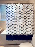 파란 점 PEVA는 목욕탕을%s 곰팡이 증거 샤워 커튼을 방수 처리한다