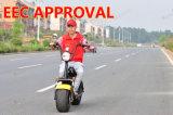 De door de EEG goedgekeurde Elektrische Elektrische Autoped van de Lange Waaier van Citycoco van de Autoped