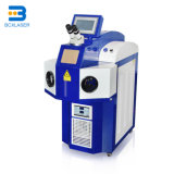Joalharia máquina de soldar a laser com o Microscópio