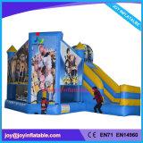 Надувные прыжком Moonwalk упругие замок с задвижкой (радость6-180)