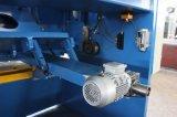 QC11k油圧CNCかNCのギロチンのせん断機械