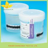 Urin-Probenmaterial-Cup-Temperatur-Streifen