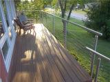 テンショナーデザインの米国式の屋外の別荘のデッキケーブルの柵