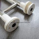 Ss304 a forma di U fissato al muro & barre di gru a benna di plastica di nylon della stanza da bagno