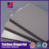 El panel sólido de aluminio material del revestimiento más barato de la pared exterior de Alucoworld