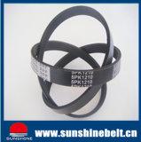 Pk en caoutchouc de la courroie de transmission de la courroie Poly V avec une haute qualité et des prix compétitifs