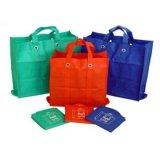 ポリエステル綿のナイロンオックスフォード210dのFoldableショッピング・バッグ
