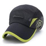 Gorra de béisbol adulta del acoplamiento del poliester de la manera (YKY3459)