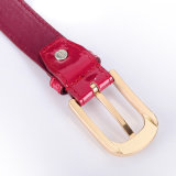 PU Leather Shiny Export Clothing Girl PU Belt (RS-1509013)