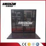 Barriera nera di alluminio della fase di Shizhan/barriera di concerto/rete fissa controllo di folla